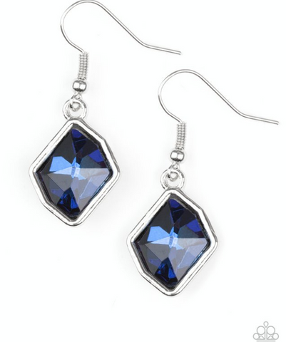 Glow It Up-Blue Earrings
