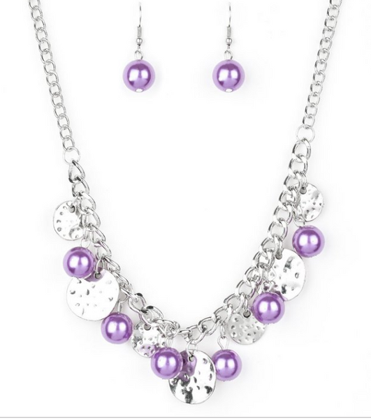 Seaside Sophistication-Purple Necklace