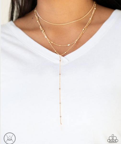 Think Like A Minimalist-Gold Necklace