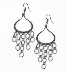 Total Net Revenue-Black Earring