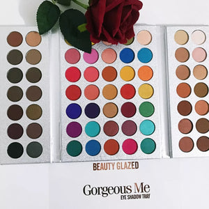 Paleta Sombras 63 Cores Beauty Glazed Gorgeous Me