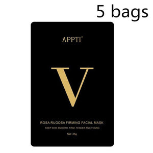 V Line Mask 4d Face Lifting Mask Miracle V-shaped Slimming Mask Double Chin Reducer Lift Patch V Shape Face Firming Tool