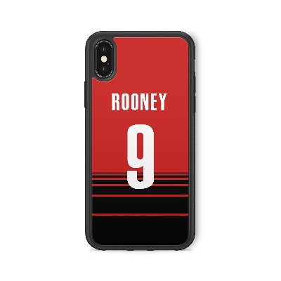 MANCHESTER UNITED CUSTOM CASE - FOOTBALL