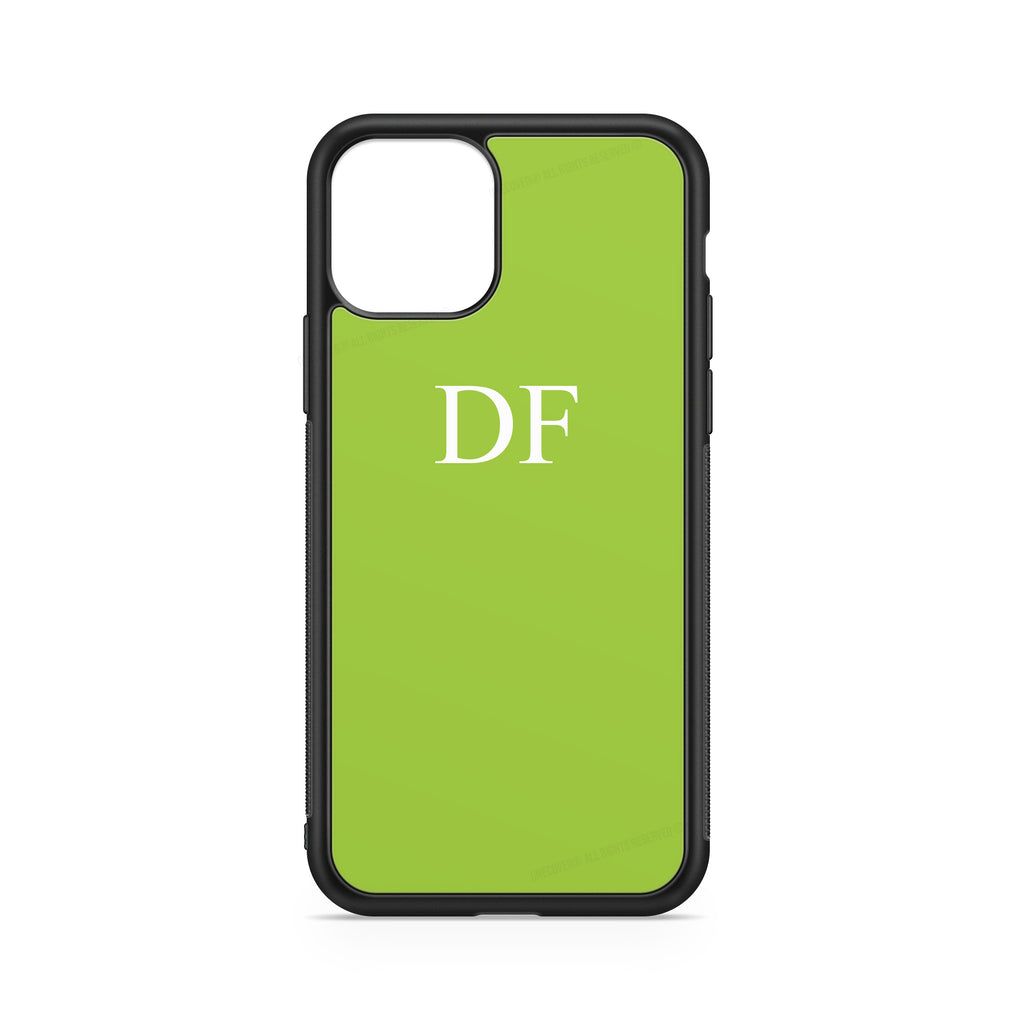 "INITIALS GREEN ""FLUO"" CASE"