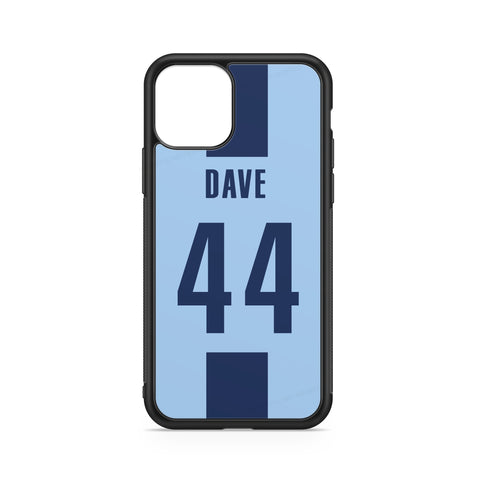 MANCHESTER CITY CUSTOM CASE - FOOTBALL