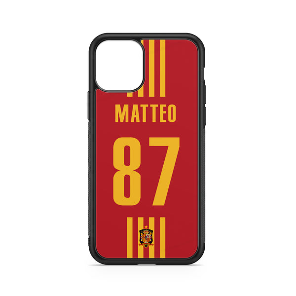 SPAIN CUSTOM CASE - FOOTBALL
