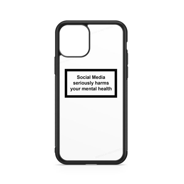 SOCIAL MEDIA WARNING MESSAGE WHITE BACKGROUND CASE
