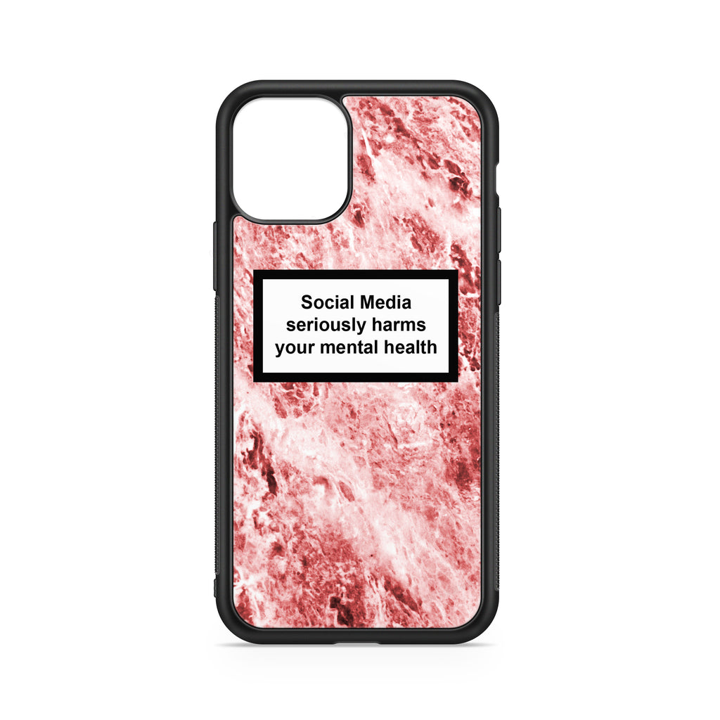SOCIAL MEDIA WARNING MESSAGE HISTOLOGIC BACKGROUND CASE