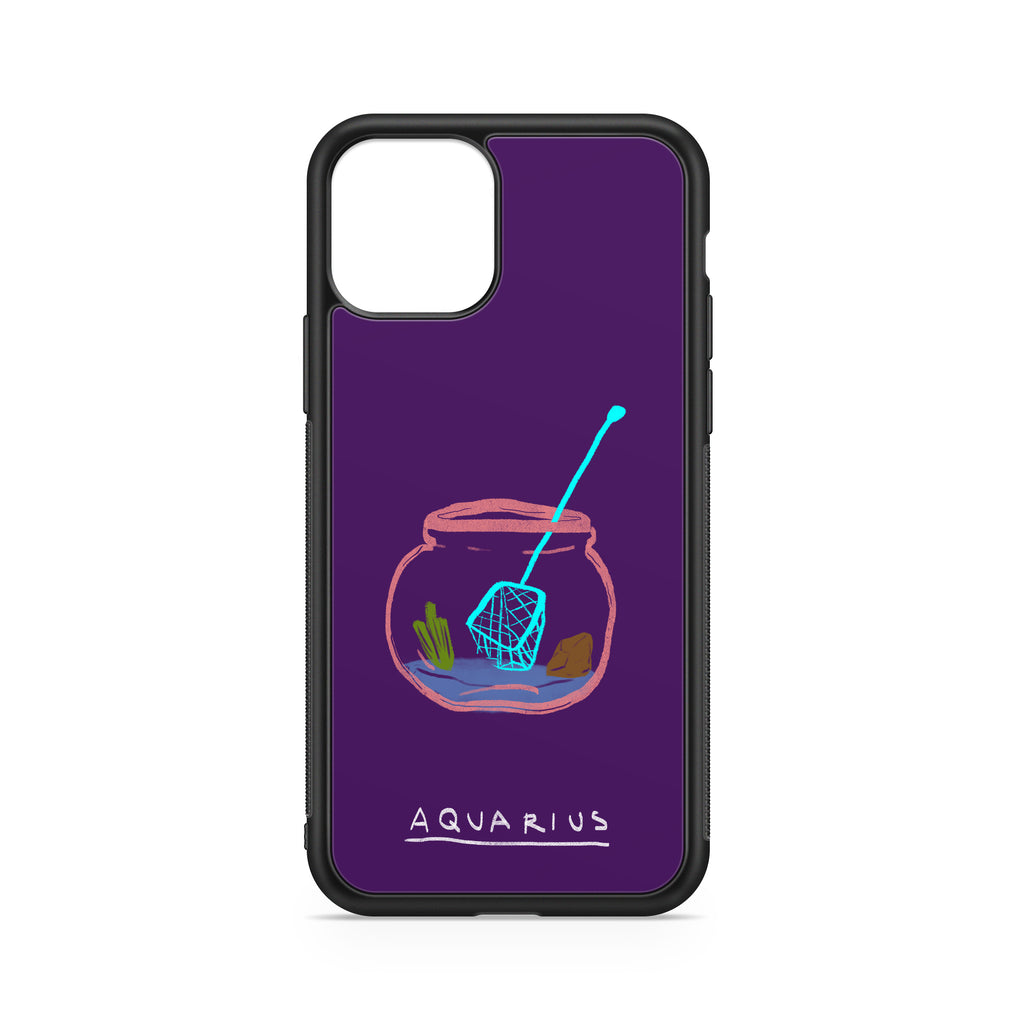 CASE ART ZODIAC SIGN ACQUARIUS