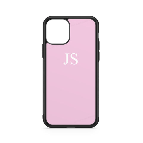 INITIALS PINK WHITE CASE