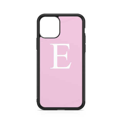 BIG INITIAL PINK WHITE CASE