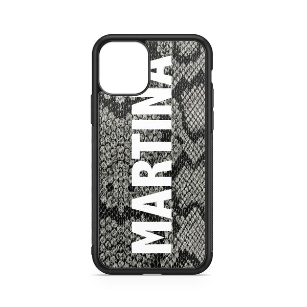 BIG NAME GREY PYTHON CASE