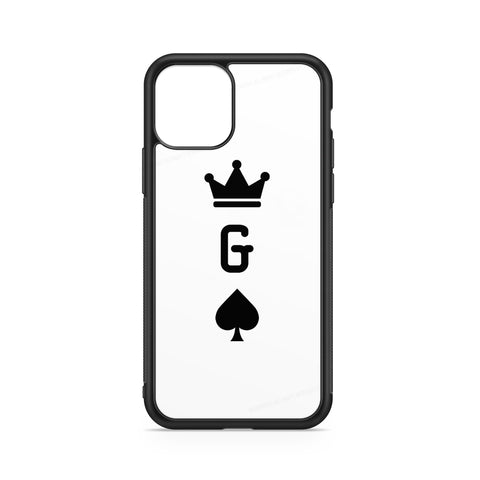 BLACK SPADES CROWN INITIAL CASE