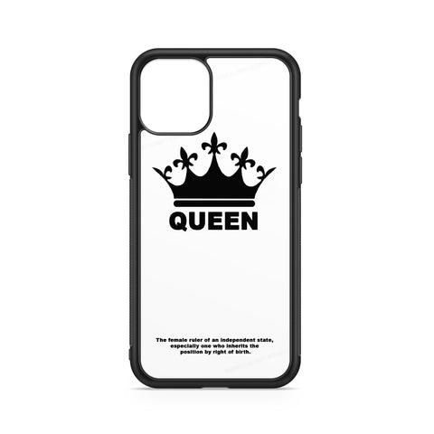WHITE CROWN QUEEN CASE