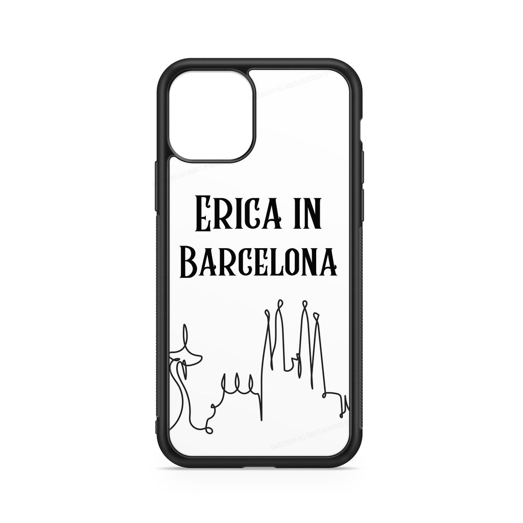 BARCELONA CASE CUSTOMIZABLE WITH NAME