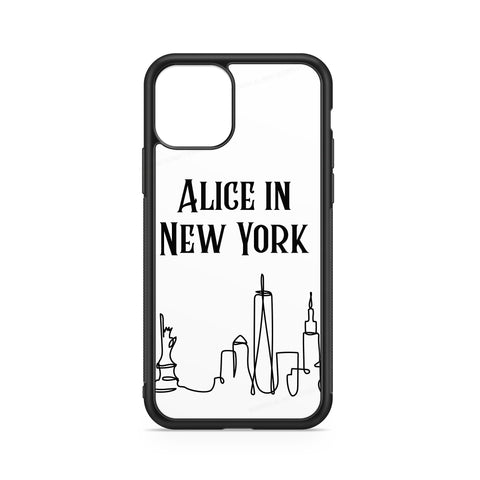 NEW YORK CASE CUSTOMIZABLE WITH NAME