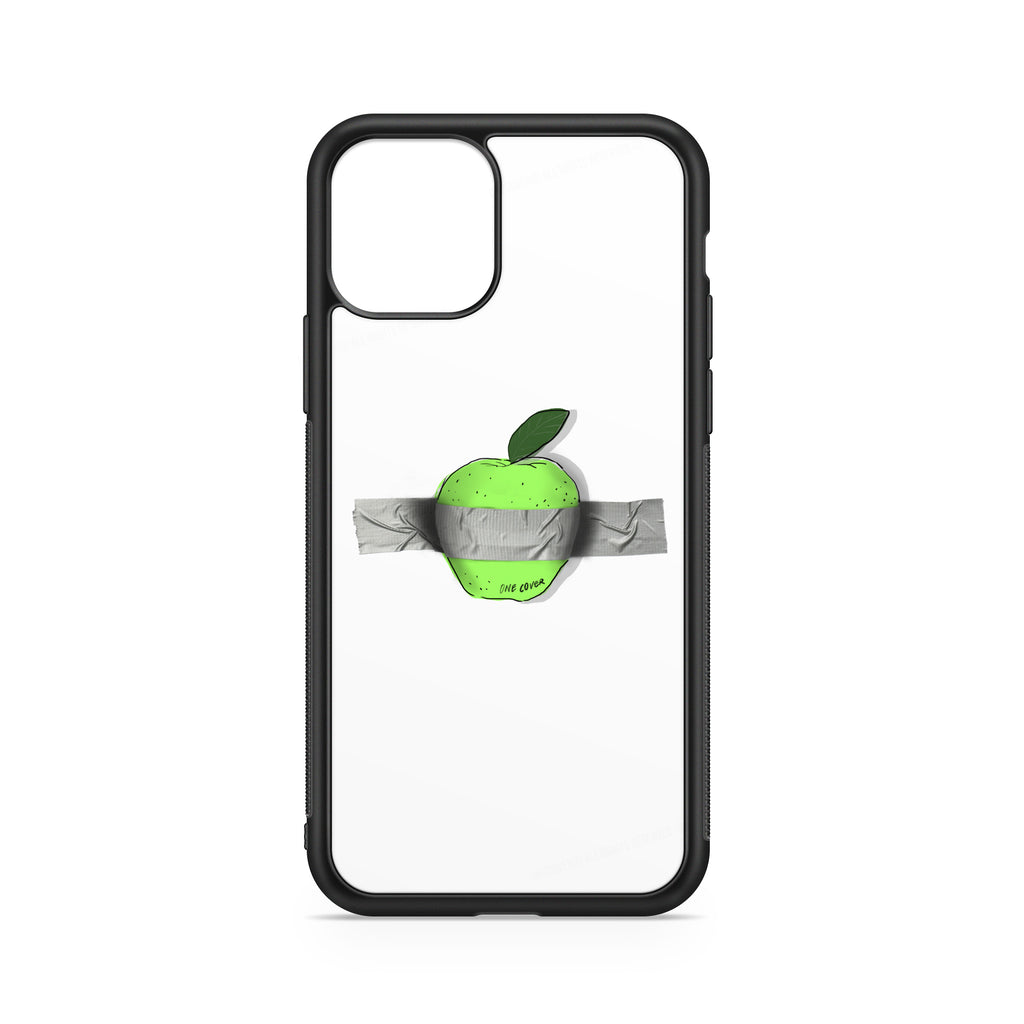 DUCT TAPED APPLE ON A PHONE CASE