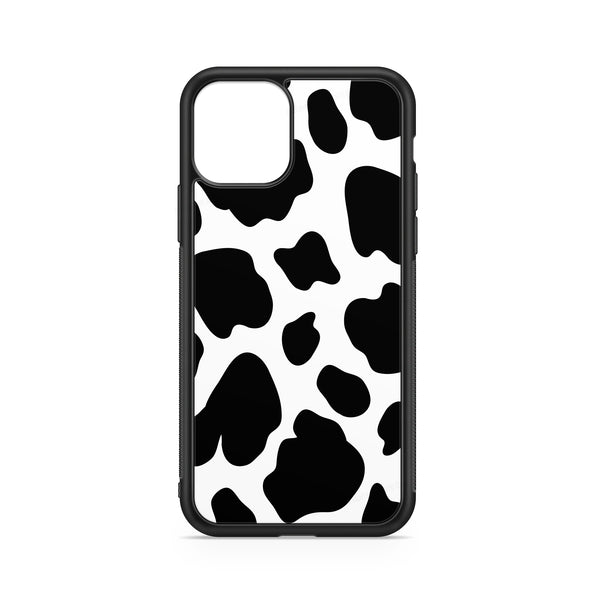 COW CASE BLACK STAINS WHITE BACKGROUND