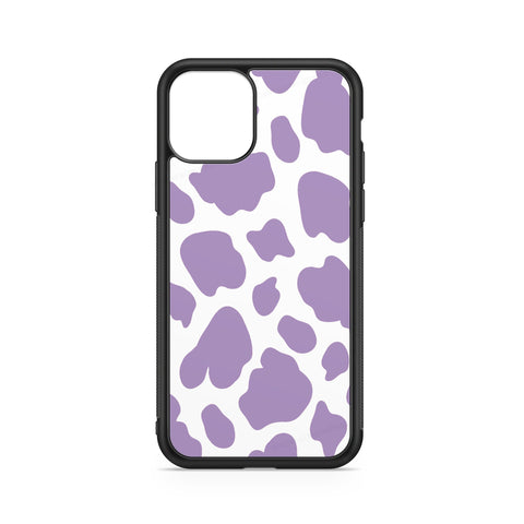 COW CASE PURPLE STAINS WHITE BACKGROUND