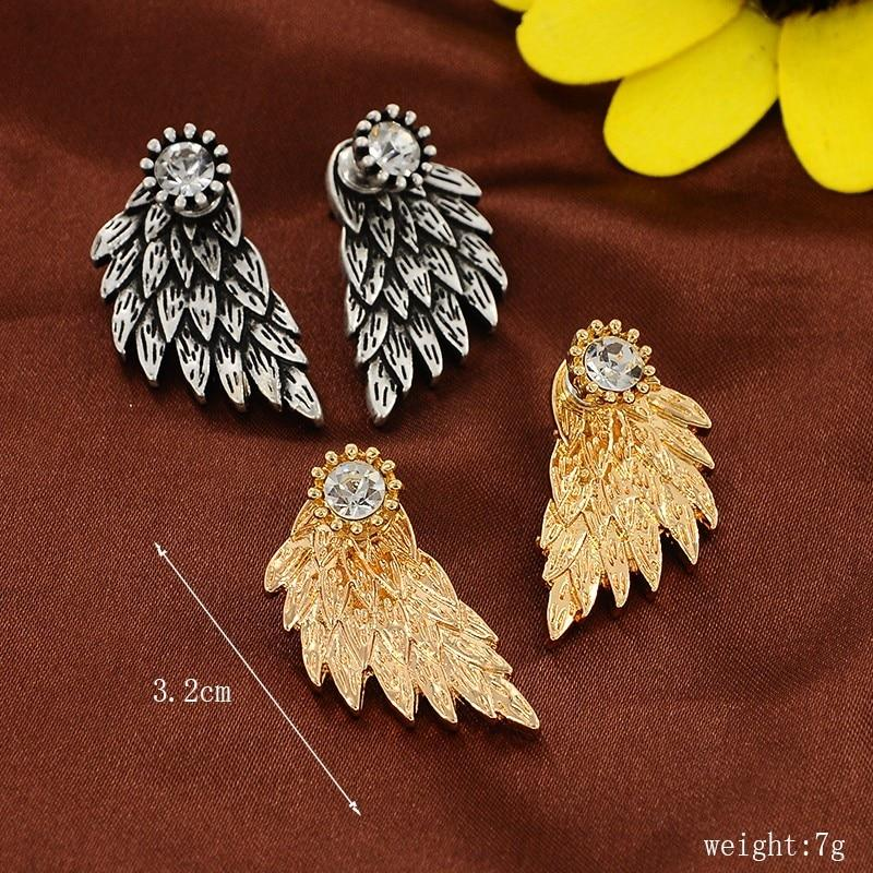 Angel Wings Stud Earrings Specs