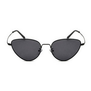Black Retro Cat Sunglasses