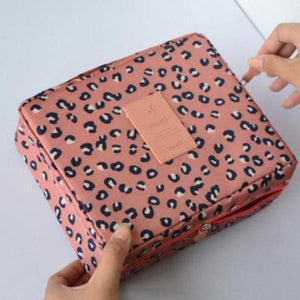 Leopard Waterproof Cosmetic Bag