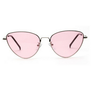Pink Retro Cat Sunglasses