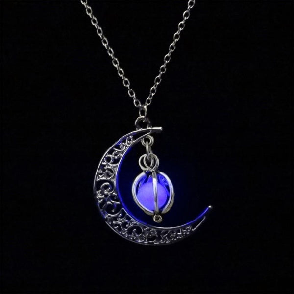 Purple Glow In The Dark Pendant