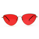 Red Retro Cat Sunglasses