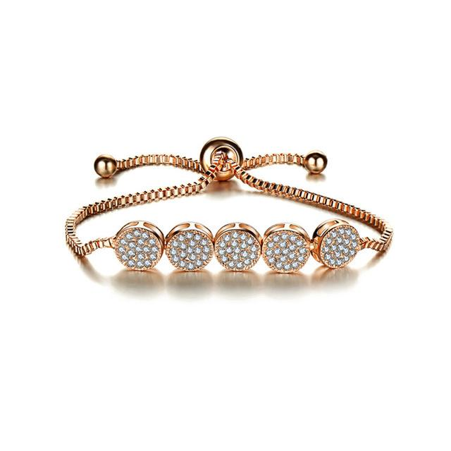 Rose Gold Party Bracelet