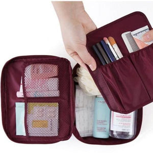 Waterproof Cosmetic Bag Open