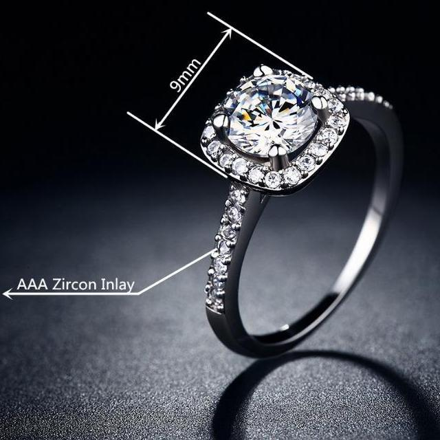 White Cubic Zirconia Ring Specifications