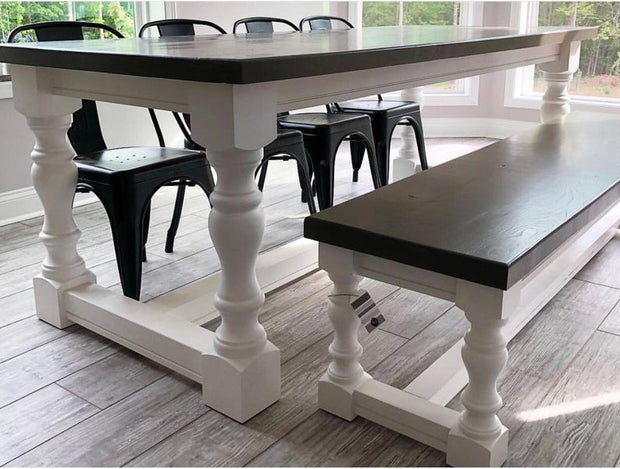 "Maple Monastery Dining Legs - 5"" x 5"" x 29"""