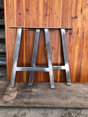 "Metal A Frame Table Legs - Set of 2 - 29"" x 24"" - Custom Sizes Available by Request"