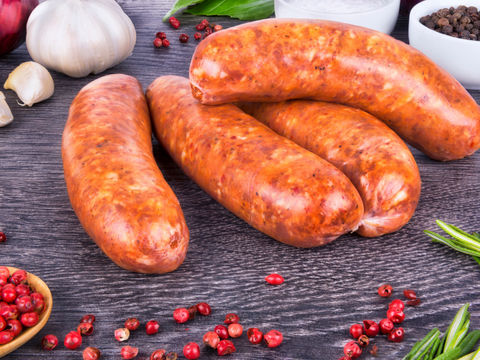 Alberta Grass Fed Lamb Curry Sausage | 5 per pack - Cultivatr - Farm to Table