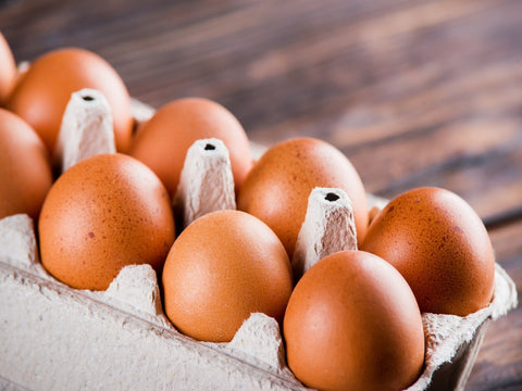 Farm Fresh Free Range Brown Eggs - Cultivatr - Farm to Table (4317965484083)
