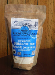 Garbanzo Bean Flour | 560 g - Cultivatr - Farm to Table