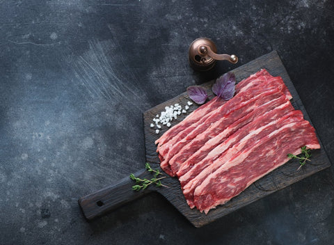 Grass Fed Beef Bacon| Aprx 1 lb - Cultivatr - Farm to Table