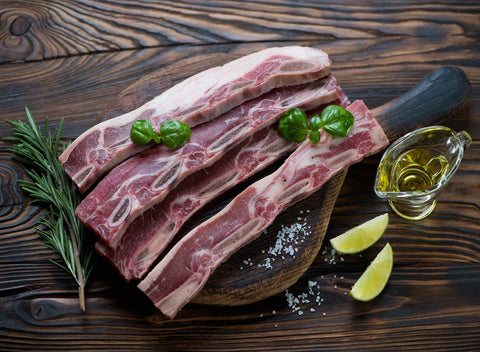 Grass Fed Korean Style Beef Short Ribs | 13 oz Package - Cultivatr - Farm to Table