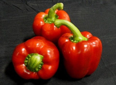 Local Peppers - Red Bell | 1 Medium Pepper - Cultivatr - Farm to Table