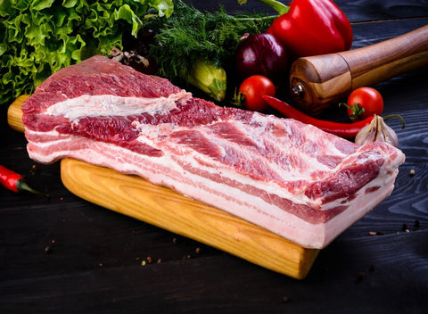 Natural Pork Belly | Various Sizes - Cultivatr - Farm to Table