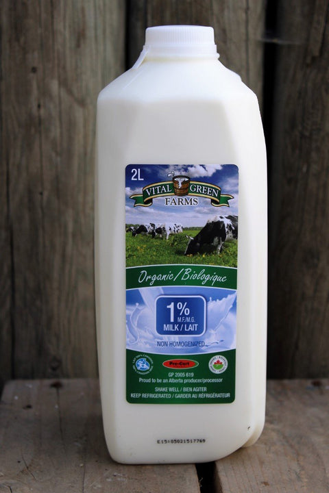 Organic 1% Milk - Cultivatr - Farm to Table