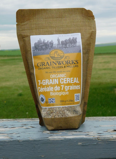 Organic 7 Grain Cereal | 555 g - Cultivatr - Farm to Table