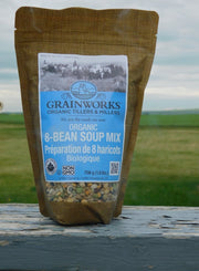 Organic 8 Bean Soup Mix | 706 g - Cultivatr - Farm to Table