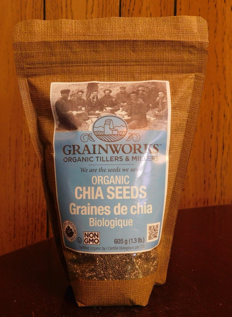 Organic Chia Seeds | 605 g - Cultivatr - Farm to Table