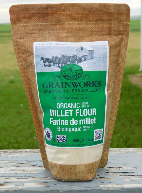 Organic Millet Flour | 600 g - Cultivatr - Farm to Table