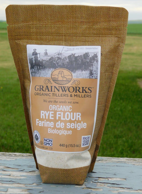 Organic Rye Flour | 440 g - Cultivatr - Farm to Table