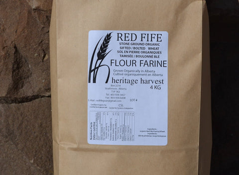Organic Sifted-Bolted Red Fife Flour - Cultivatr - Farm to Table