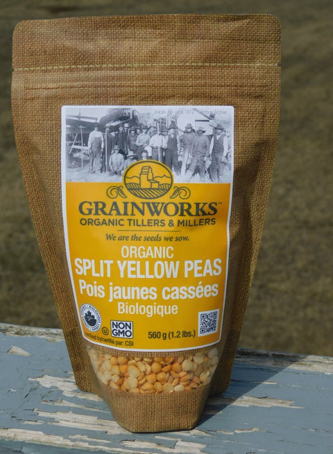Organic Split Yellow Peas | 560 g - Cultivatr - Farm to Table
