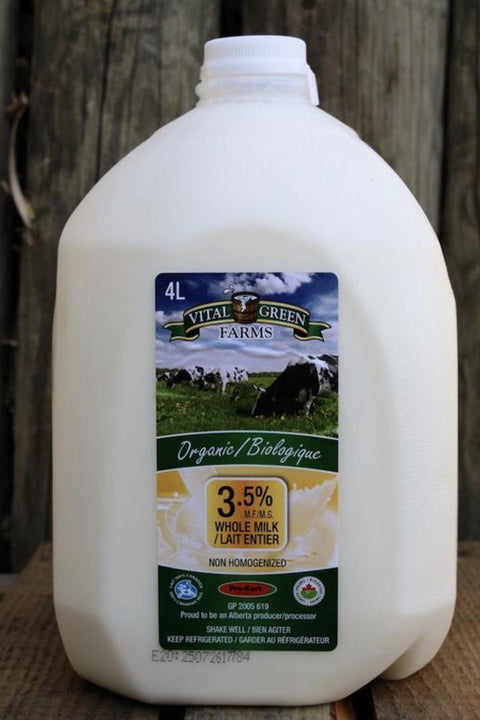 Organic Whole 3.25% Milk - Cultivatr - Farm to Table